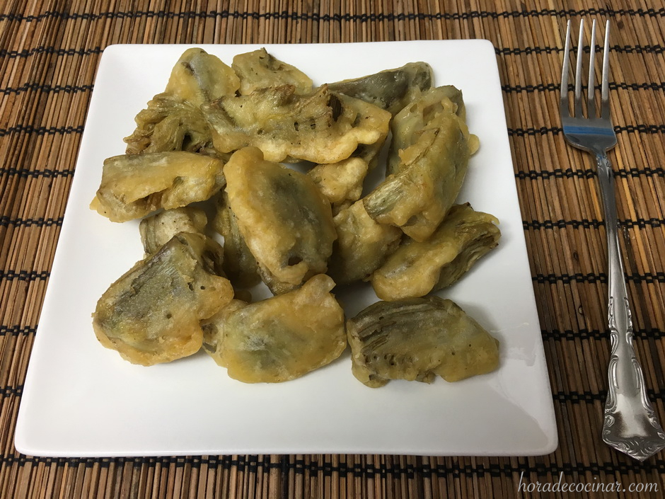 Alcachofas rebozadas