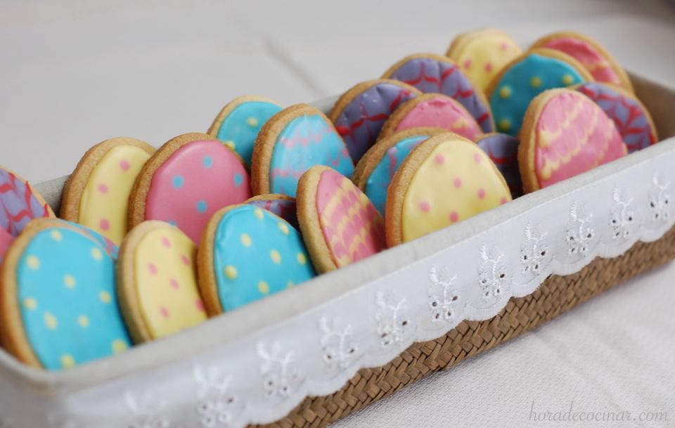 Galletas de mantequilla para Pascua