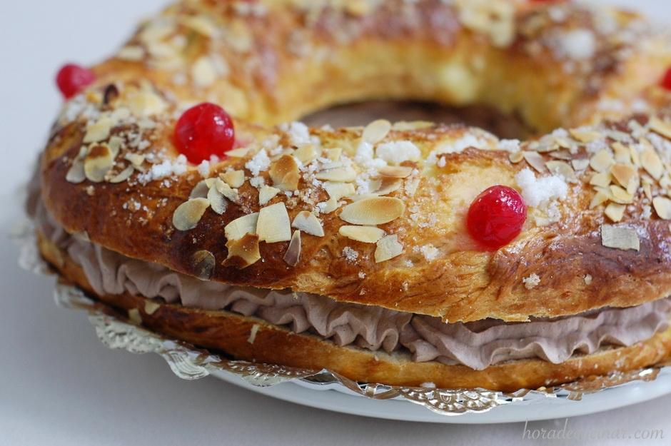 Roscón de Reyes o Tortell de Reis de Trufa