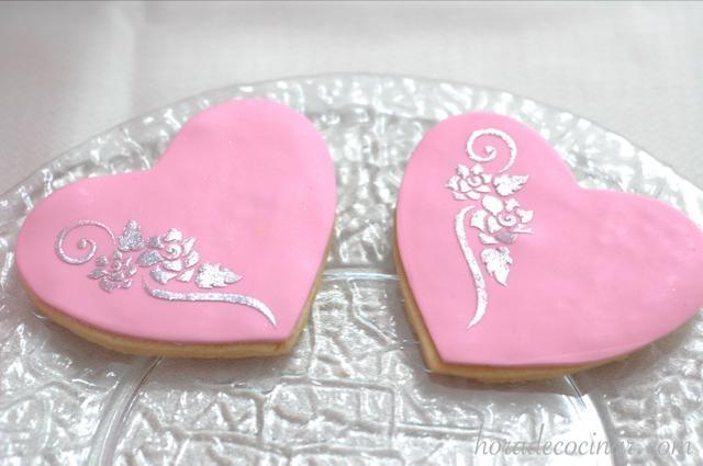 Galletas S Valentin rosa-plata 640X425