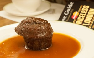Cake de toffee