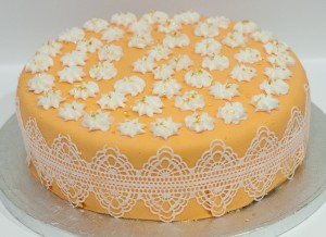 Tarta decorada con Magic Decor