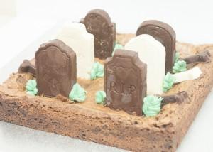 Brownie cementerio sin gluten