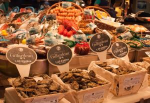 Pescadería y ostras
