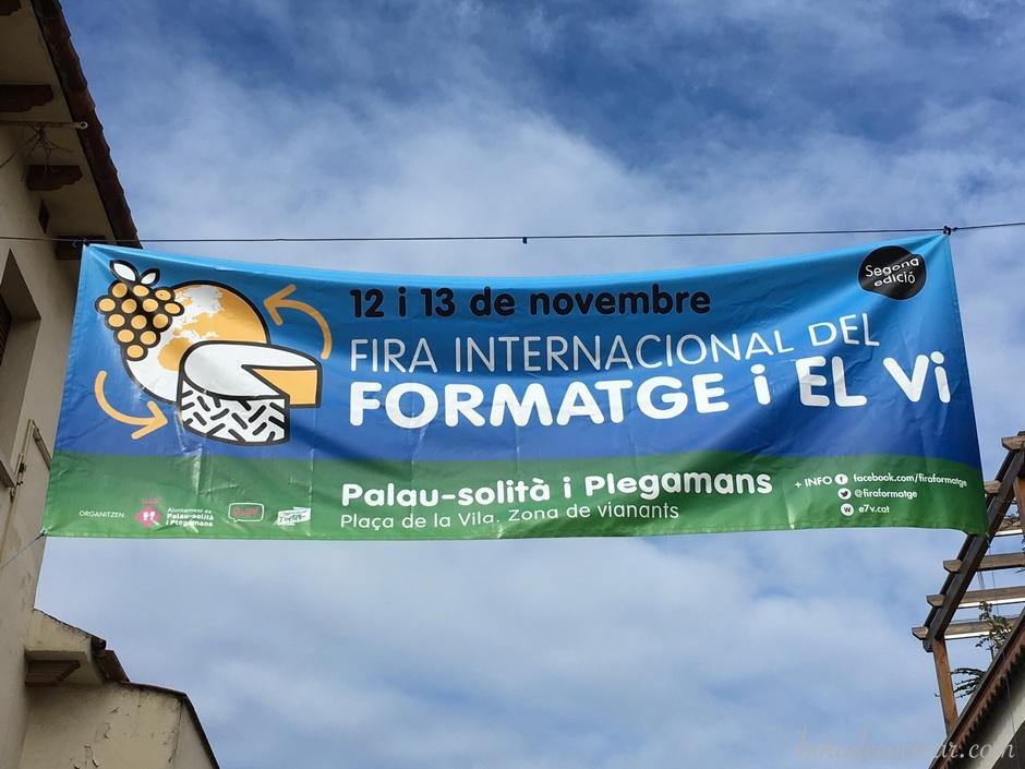 Feria internacional del queso y del vino de Palau de Plegamans