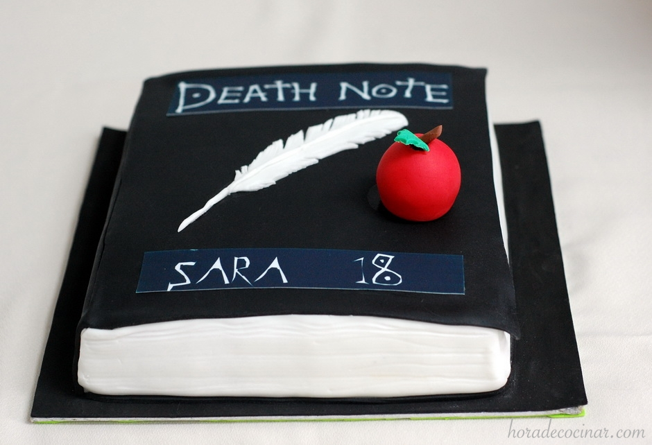 Tarta Death Note