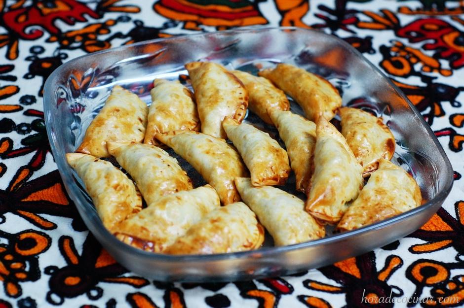 Empanadillas de ternera picantes