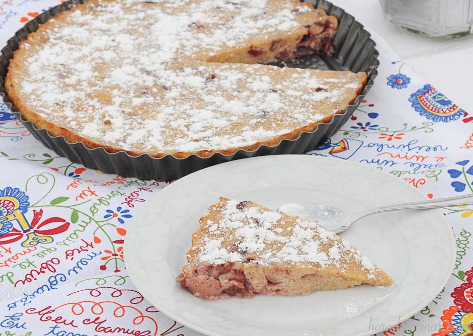 Clafoutis (tarta de cerezas)