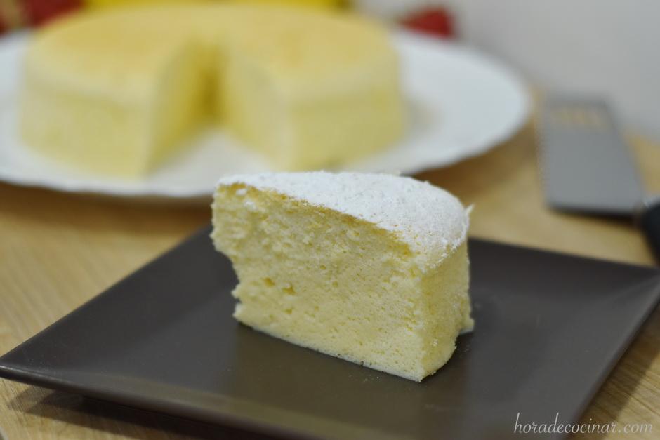Tarta de queso japonesa  – Japanese Cheesecake