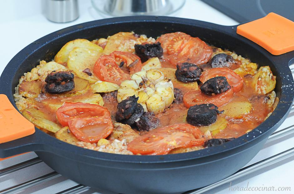 Arroz al horno valenciano (Arròs al forn)