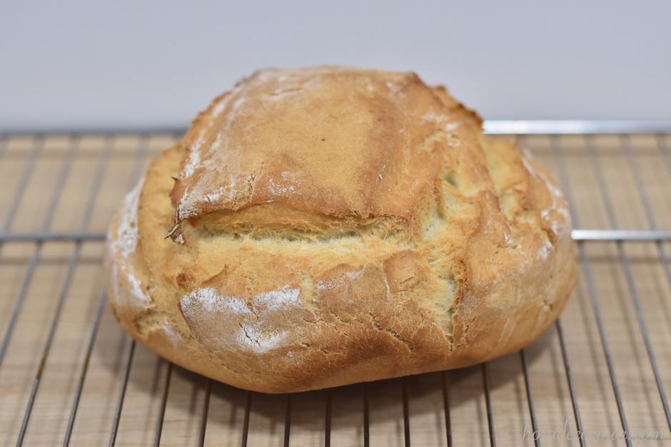 Pan fácil en bolsa de asar