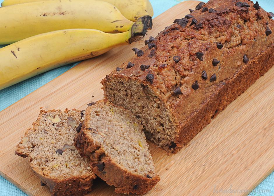 Banana bread (pan de plátano)